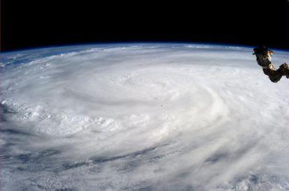 Imagen del Haiyan tomada el 9 de noviembre por la NASA.