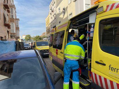 Ambulancias del Summa 112 112 COMUNIDAD DE MADRID 07/09/2021