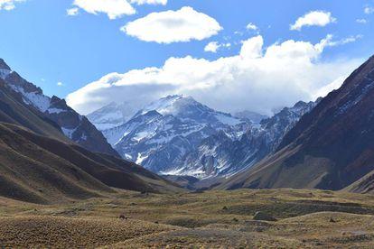 El Aconcagua, la montaña más alta de las Américas.