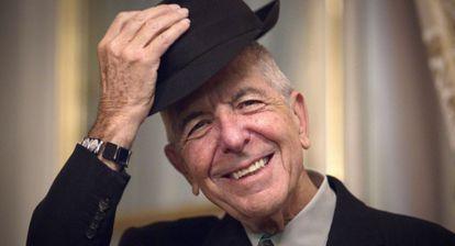 Leonard Cohen, en su comparecencia ante la prensa en París de esta semana.