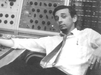 Phil Spector, en una imagen de alrededor de 1970.