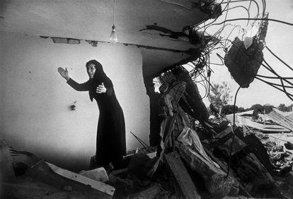 Una superviviente de la masacre de Sabra.
