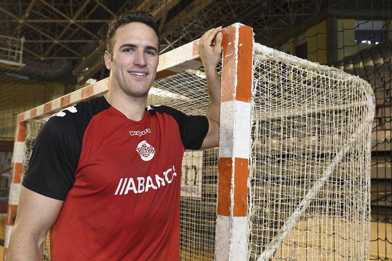 Andrew Donlin , jugador estadounidense del Ademar León.