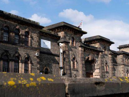 La prisión de Wandsworth, en Londres, donde Julian Assange permanece recluido, según los medios británicos