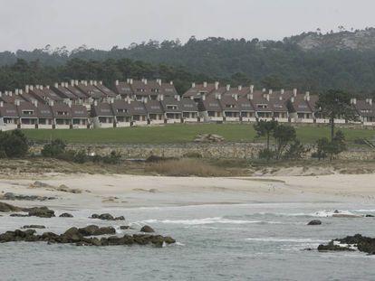 Urbanización de Raeiros, en el ayuntamiento de O Grove, en 2010.
