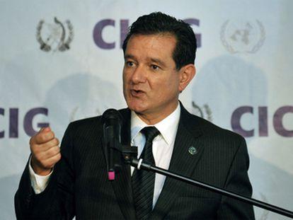 El jurista Carlos Castresana en una imagen de octubre de 2019.