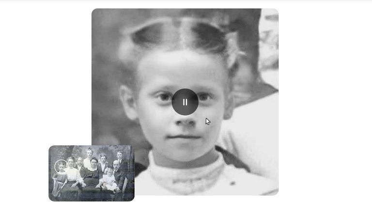 Deep Nostalgia animated portraits based on old photographs, from MyHeritage