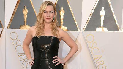 Kate Winslet, en los premios Oscar 2016 en Los Ángeles.