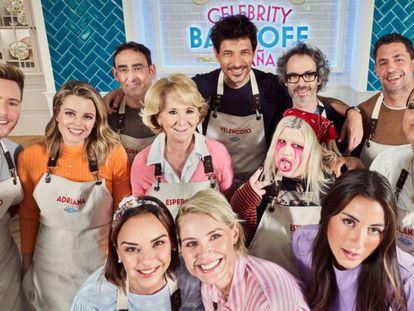 Los 12 concursantes de 'Celebrity Bake Off España'.