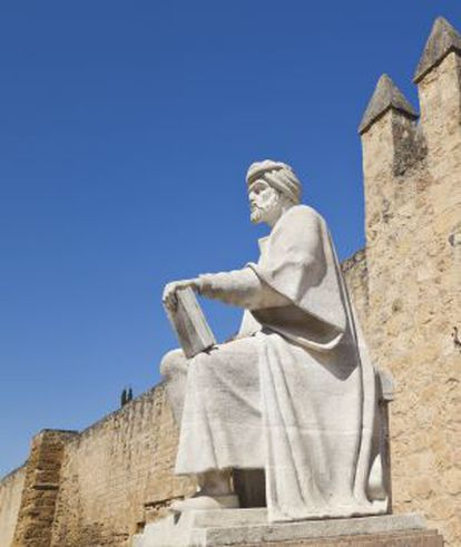 Estatua de Averroes en Córdoba.