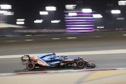 Fernando Alonso, durante la carrera de este domingo.