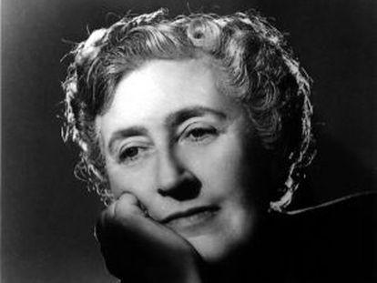 La escritora inglesa Agatha Christie.