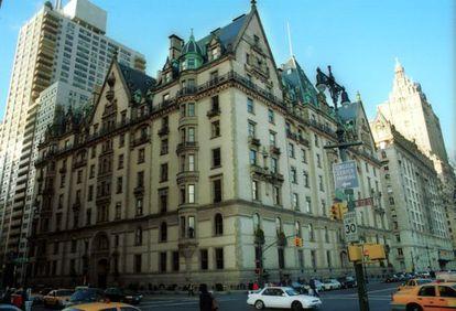 El edificio Dakota, en Nueva York.