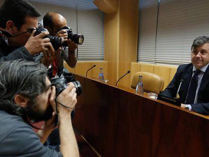Miguel Ángel Ruiz, exviceconsejero de Medio Ambiente y Urbanismo, el pasado noviembre.