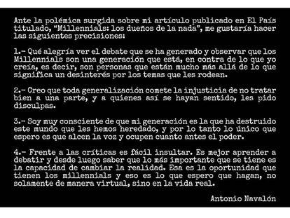 Imagen colgada por Antonio Navalón en su cuenta de Twitter.