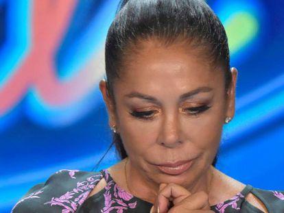 Isabel Pantoja, en la presentación del programa 'Idol Kids'.
