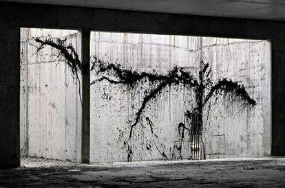 Una de las imágenes expuestas en 'Intervenciones. Diálogos con la arquitectura'.