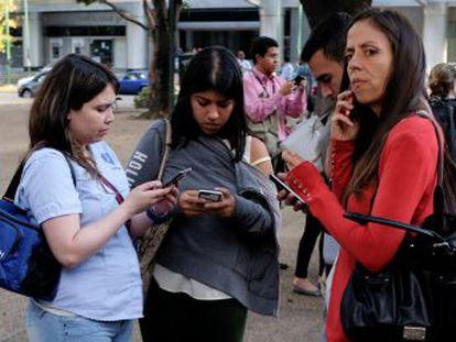 El terremoto, con epicentro en el Estado de Sucre, al este del país, se sintió fuerte en la capital aunque todavía no hay información sobre daños o víctimas