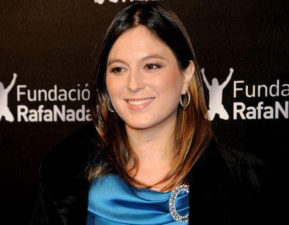 Chábeli Iglesias, en un acto solidario en Madrid en 2010.