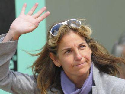 Arantxa Sánchez Vicario, en el pasado Roland Garros.