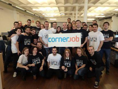 El equipo de Cornerjob.