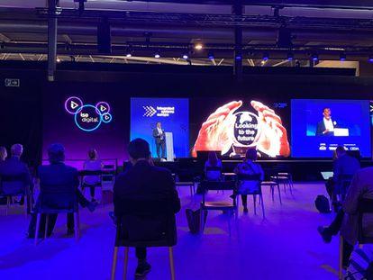 Un instante de la inauguración del ISE Live & Online.