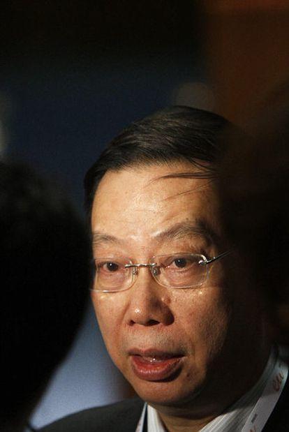 Huang Jie-fu, viceministro de Salud de China.