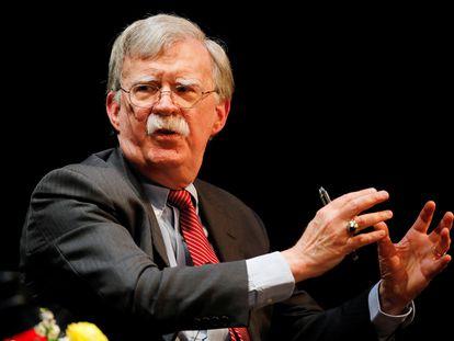 El Consejero de Seguridad de EE UU, John Bolton, en Carolina del Norte, en febrero pasado.