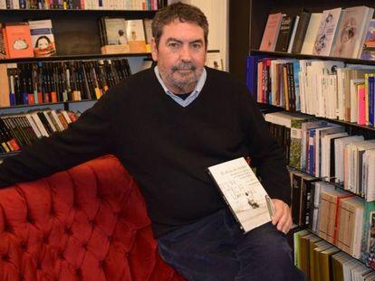 El escritor y profesor de Literatura, Javier Aristu.