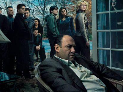 Imagen promocional de 'Los Soprano'.