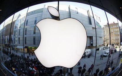 Una tienda Apple en Alemania