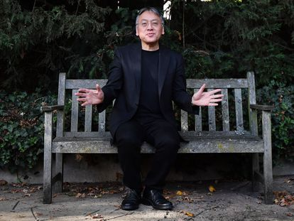 Kazuo Ishiguro en Londres, en 2017.