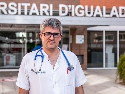 El doctor Jordi Monedero, director asistencial del Hospital de Igualada.