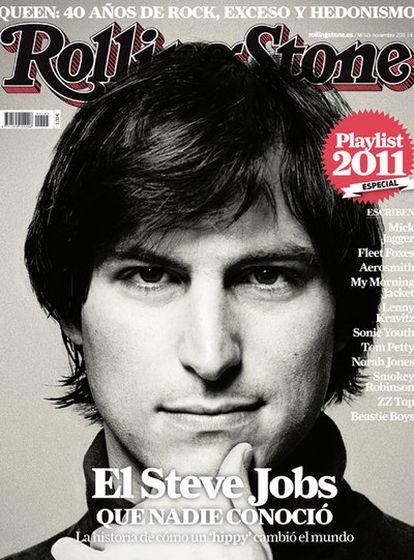 La portada de<i> Rolling Stone.</i>