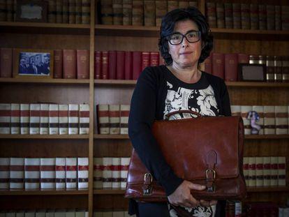 Celia González, secretaria municipal que denunció acoso y corrupción en el Ayuntamiento de Palas de Rei.