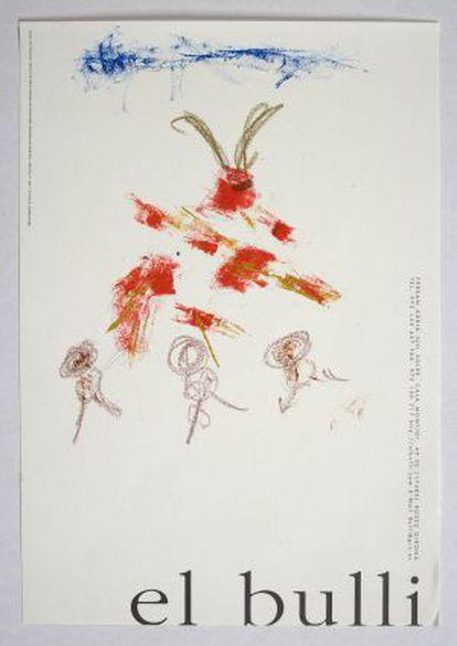 Dibujo de Ferran Adrià.