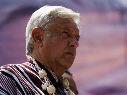 Andres Manuel Lopez Obrador, el puntero en las encuestas.