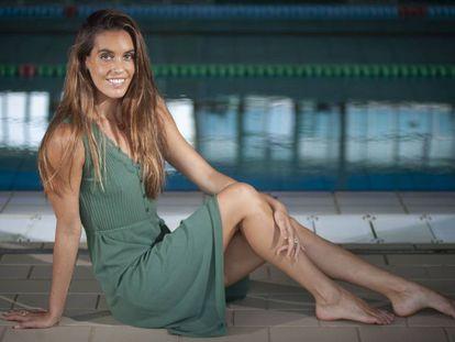 Ona Carbonell posa en el CN Sabadell, el club al que pertenece.