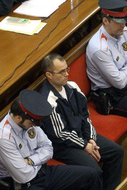 Pedro Jiménez, durante el juicio en la Audiencia de Barcelona.
