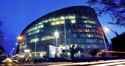 Edificio del Parc de Recerca Biomèdica de Barcelona, que albergó a IAT.