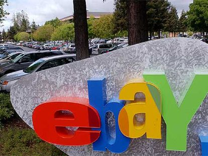 Sede de la compañía eBay Inc. en San José, California.