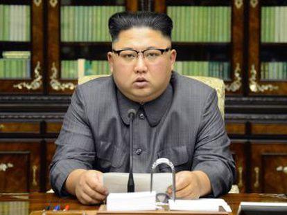 El líder norcoreano responde en persona a las declaraciones del presidente estadounidense en la ONU. Pyongyang advierte de que podría probar una bomba de hidrógeno en el Pacífico