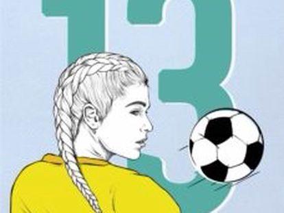 Portada del libro 13,  de Andrea Menéndez Faya.