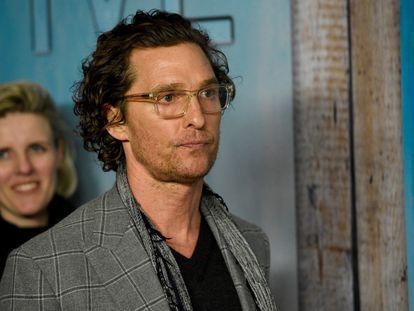 Matthew McConaughey, en Los Ángeles (EE UU), el año pasado.