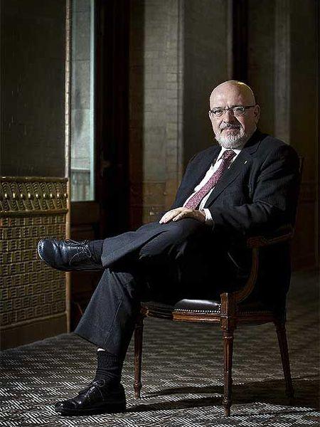 Josep Huguet, el miércoles, en el Parlament.