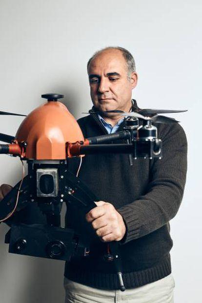 Miguel Rosa, de Aerotools, cree que el sector despegará cuando las grandes empresas integren los drones en sus actividades rutinarias.