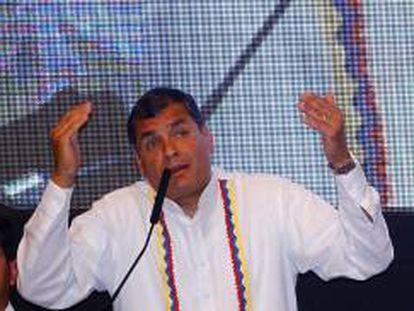 En la imagen, el presidente de Ecuador, Rafael Correa. EFE/Archivo