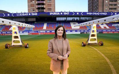Amaia Gorostiza, presidenta del Eibar