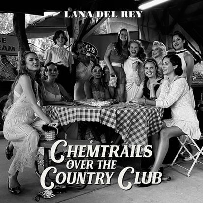 Portada de 'Chemtrails Over the Country Club', de Lana Del Rey.