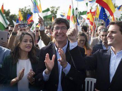 El líder de Ciudadanos define a Sánchez y Casado como  los Pimpinela   Que se pelean en público y en privado se reparten la justicia